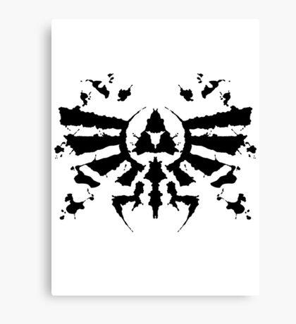 Hyrule Rorschach Canvas Print