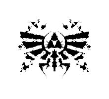 Hyrule Rorschach Photographic Print
