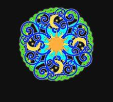 Mandala Day and Night Unisex T-Shirt