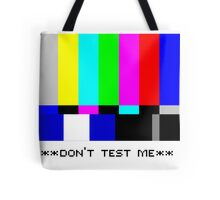 **THIS IS NOT A TEST** Tote Bag