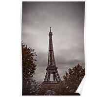 Aged Tour Eiffel Poster