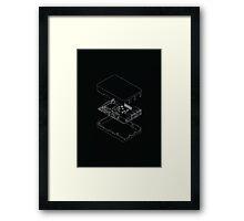 Raspberry Pi Poster Framed Print