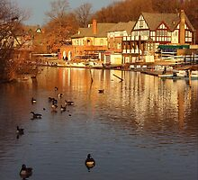 Boathouse Row Philadelphia by GalleryThree