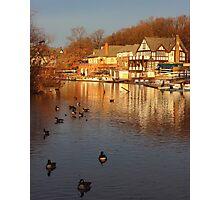 Boathouse Row Philadelphia Photographic Print