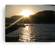 Lake Mead Sunrise Canvas Print