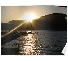 Lake Mead Sunrise Poster