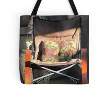 Porch chair, Lydia Street Tote Bag