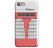 Vintage Transistor Radio - Impala Salmon iPhone Case/Skin