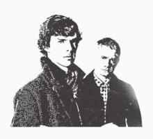 Sherlock Vector #2 by Dope Prints