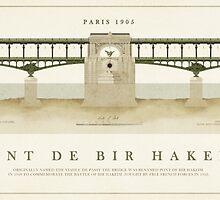 Pont De Bir Hakeim Paris by Old-Lundenwic