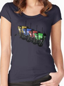 Robot Army Women's Fitted Scoop T-Shirt