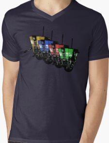 Robot Army Mens V-Neck T-Shirt