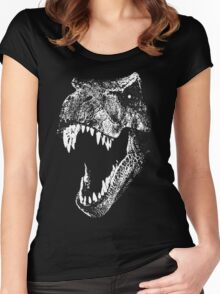 I'm a Dino Fan... Women's Fitted Scoop T-Shirt