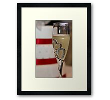 Cake and wine all Framed Print