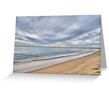 Newport Beach Landscape Greeting Card