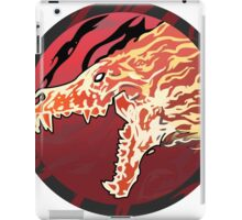 Flaming Howl High Res Version iPad Case/Skin