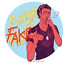 Moriarty was FAKE by Cara McGee