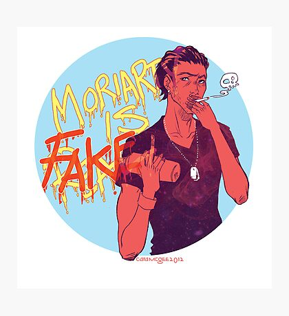 Moriarty was FAKE Photographic Print