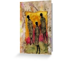 Just the THREE of Us Greeting Card