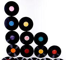 OLD Vinyls  by Nina  Matthews Photography
