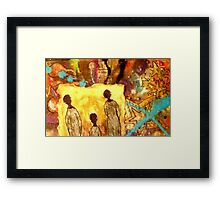 Glowing Spirits Framed Print