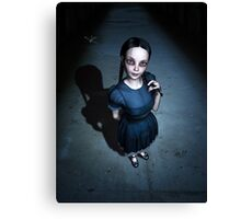 Little Miss Innocent Canvas Print