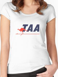 Trans Australia Airlines (TAA) - Livery (1960s) Women's Fitted Scoop T-Shirt