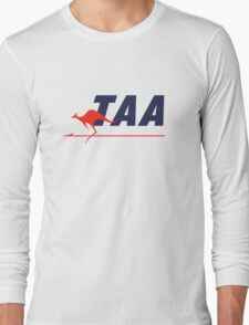 Trans Australia Airlines (TAA) - Livery (1960s) Long Sleeve T-Shirt