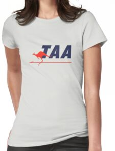 Trans Australia Airlines (TAA) - Livery (1960s) Womens Fitted T-Shirt