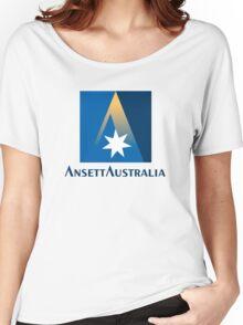 Ansett Australia - 1990's Livery Women's Relaxed Fit T-Shirt