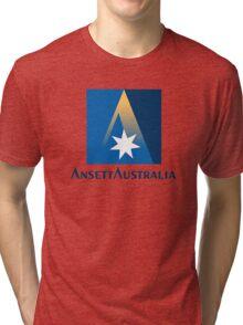Ansett Australia - 1990's Livery Tri-blend T-Shirt