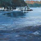 Edith Bay: Low tide by Tom Godfrey