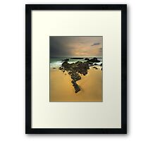 """Triangulum"" ∞ Haycock Point, NSW - Australia Framed Print"
