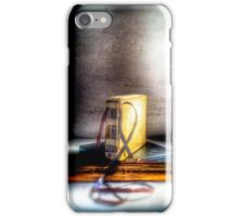 Lost Tracks  iPhone Case/Skin