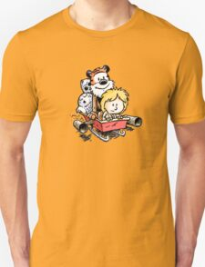 Calvin and Hobbes Inspired Stars Wars T-Shirt