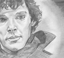 Benedict Cumberbatch Sherlock by Caroline Smalley