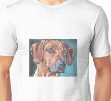 Rhodesian Ridgeback Fine Art Painting Unisex T-Shirt