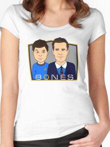 Bones Women's Fitted Scoop T-Shirt
