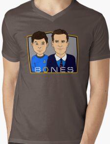 Bones Mens V-Neck T-Shirt