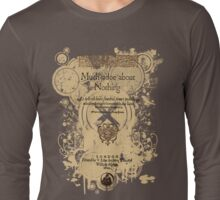 Shakespeare's Much Ado About Nothing Front Piece Long Sleeve T-Shirt