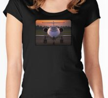 Corporate Jet Women's Fitted Scoop T-Shirt