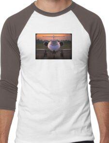 Corporate Jet Men's Baseball ¾ T-Shirt