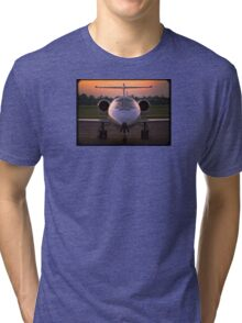 Corporate Jet Tri-blend T-Shirt