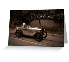 Uffindell Austin 7 1928 Greeting Card