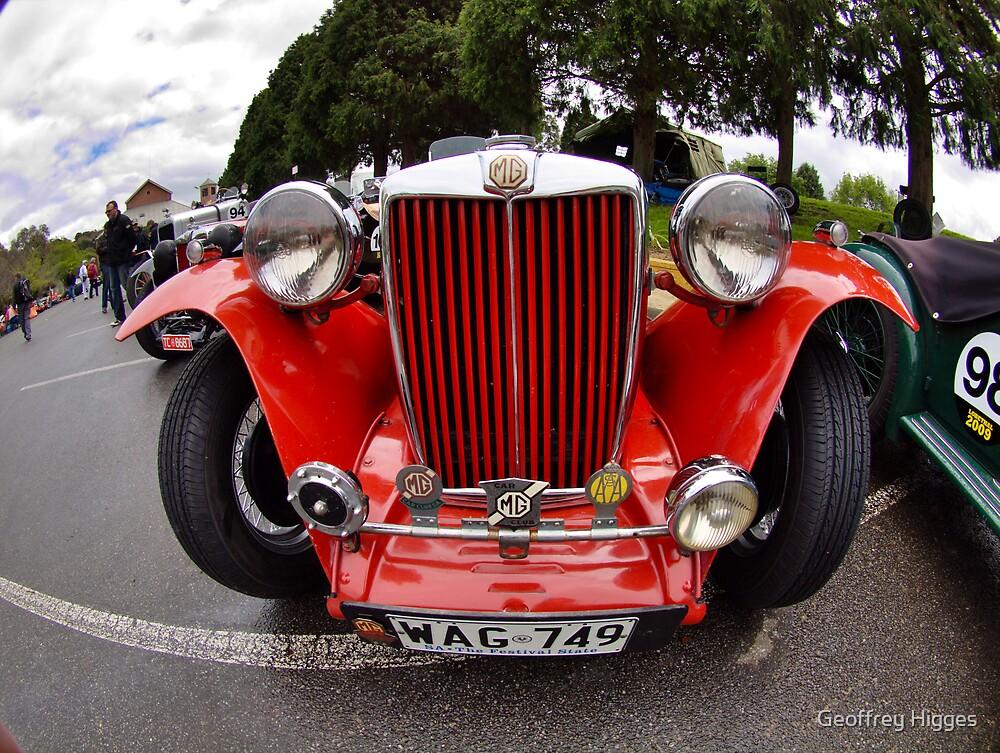 MG TC 1949 by Geoffrey Higges