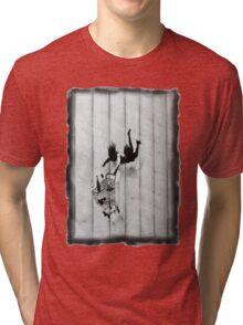 Trolley Girl Fall Tri-blend T-Shirt