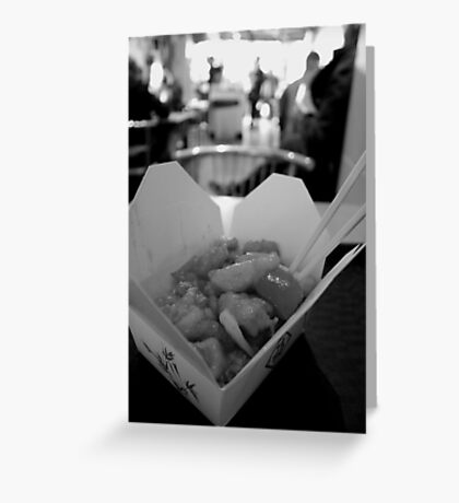 Break out your Chop Sticks! Greeting Card