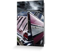Classic Car 223 Greeting Card
