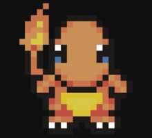 Adorable Charmander 16bit - Pokemon - Nawww Kids Clothes
