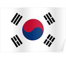 Flag of South Korea Poster